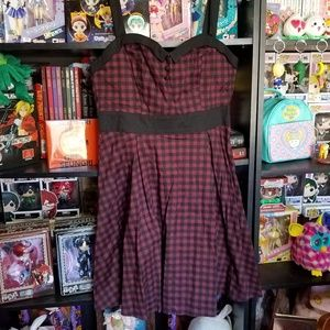 NWT Gingham Pinup Dress!
